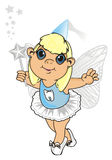 Happy tooth fairy Royalty Free Stock Photos