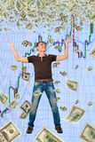 Happy trader. Stock Images
