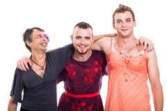 Happy transvestite group Royalty Free Stock Photo