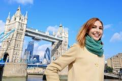 Happy travel woman Stock Photos