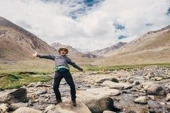 Happy traveler Stock Photography