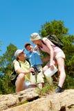 Happy travelers Stock Photo