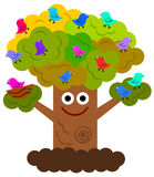 Happy tree Royalty Free Stock Photography