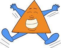 Happy Triangle Royalty Free Stock Photo