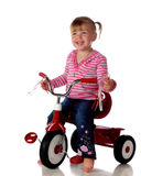 Happy Trike Rider Royalty Free Stock Photo
