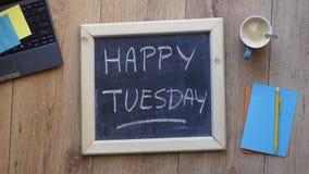 Happy tuesday Royalty Free Stock Photo
