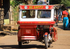 Happy Tuk Tuk Royalty Free Stock Image
