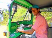 Happy tuk tuk driver Royalty Free Stock Photos