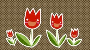 Happy Tulip Royalty Free Stock Photo