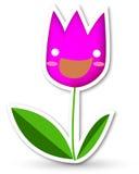 Happy Tulip Royalty Free Stock Photography