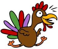 Happy Turkey Stock Photo