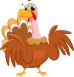 Happy turkey cartoon Stock Photos