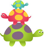 Happy Turtles Stock Image