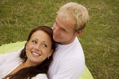 Happy twosome Stock Photos