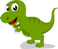 Happy Tyrannosaurus Rex Royalty Free Stock Photography