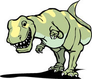 Happy Tyrannosaurus Rex Stock Photo