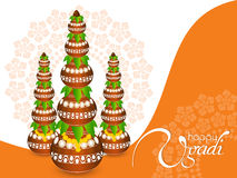 Happy Ugadi Royalty Free Stock Photos