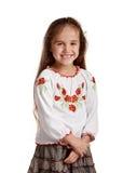 Happy ukrainian girl Stock Images