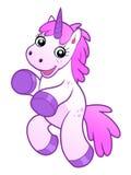 Happy unicorn Royalty Free Stock Image