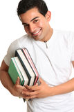 Happy university college student Stock Photos