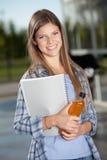 Happy University Student Stock Photo