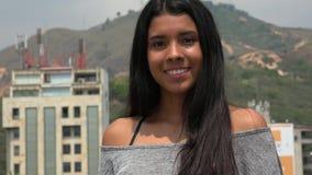 Happy Urban Teen Girl stock footage