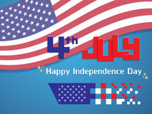 Happy USA Independence Day Royalty Free Stock Image