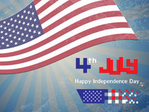 Happy USA Independence Day Royalty Free Stock Images
