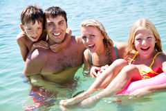 Happy vacation Stock Photography
