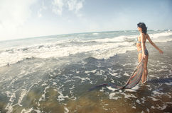 Happy vacation Royalty Free Stock Image