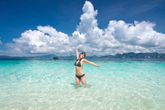 Happy vacations Stock Photography