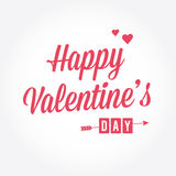 Happy Valentine's day card Royalty Free Stock Images