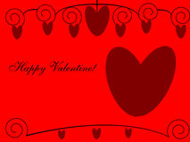 Happy Valentine! Royalty Free Stock Image