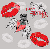 Happy Valentine Royalty Free Stock Image