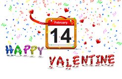 Happy Valentine. Royalty Free Stock Photos