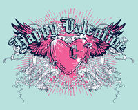 Happy Valentine stock illustration