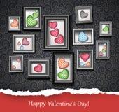Happy Valentine Stock Photography