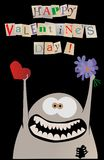 Happy valentine card Royalty Free Stock Image