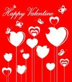 Happy valentine card Stock Photos