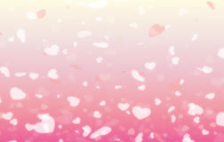 Happy valentine day background and Blur and Select focus background Stock Images