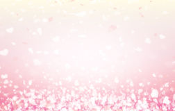 Happy valentine day background and Blur and Select focus background Stock Photo