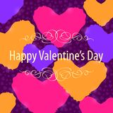 Happy Valentine Day Background Stock Photo