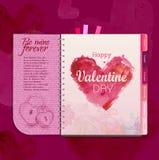 Happy valentine day background Stock Image
