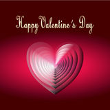 Happy valentine day card Stock Images