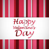 Happy valentine day card Royalty Free Stock Photo