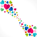 Happy valentine day design Royalty Free Stock Images