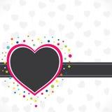 Happy valentine day design Stock Images