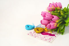 Happy Valentine Day!. Greeting card. Best wishes with love. Happy Valentine Stock Photos