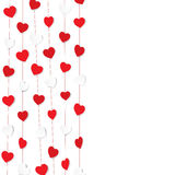 Happy valentine day greeting design Royalty Free Stock Photography