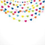 Happy valentine day greeting design Royalty Free Stock Image